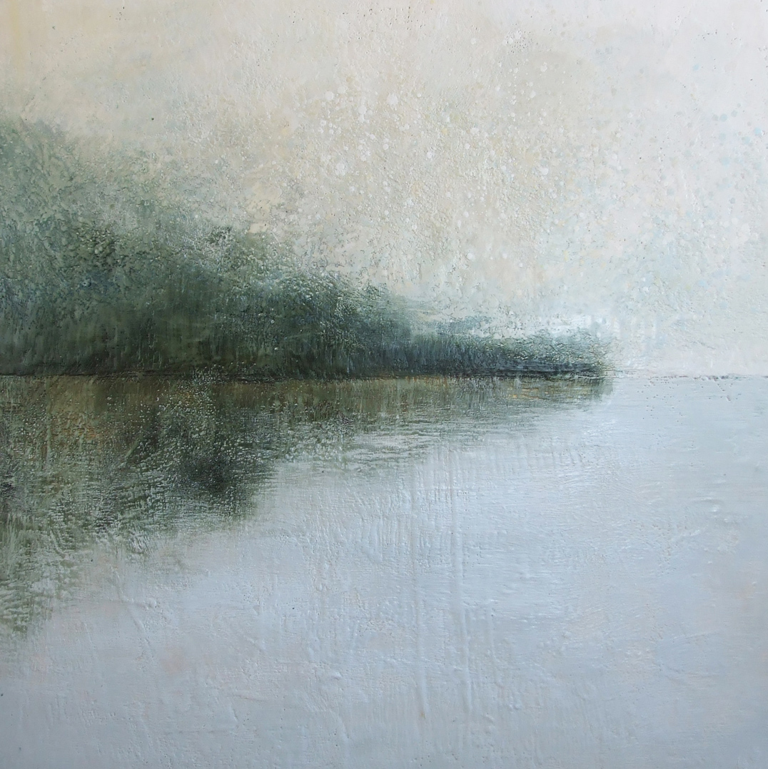 """THE SILVER LINING 48""""X48""""  SOLD"""