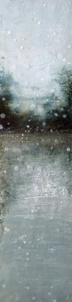 encaustic painting by Susan Wallis, Prince Edward County