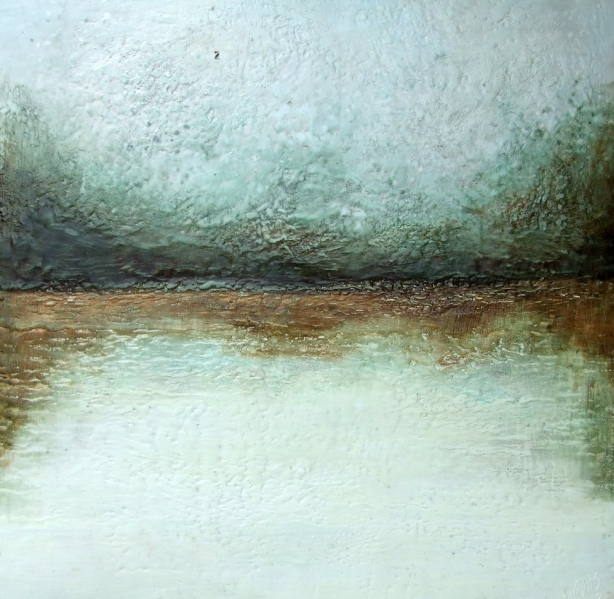 Encaustic Painting by Susan Wallis
