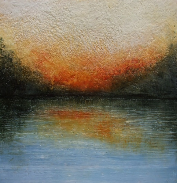 Encaustic Art inspired by Prince Edward County from Susan Wallis