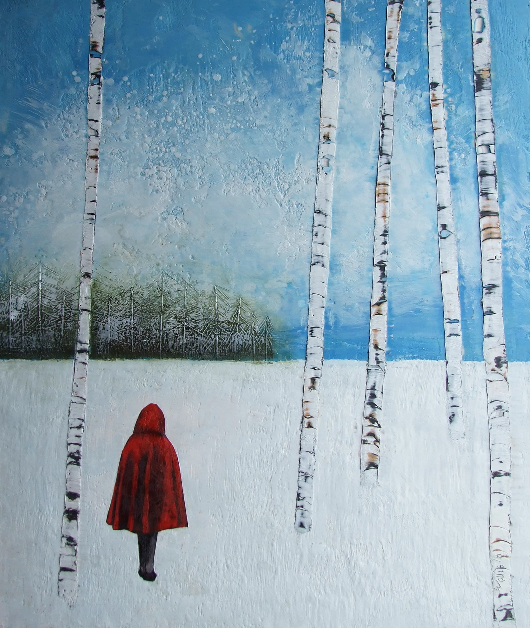 """the decision 30""""x36""""  SOLD"""