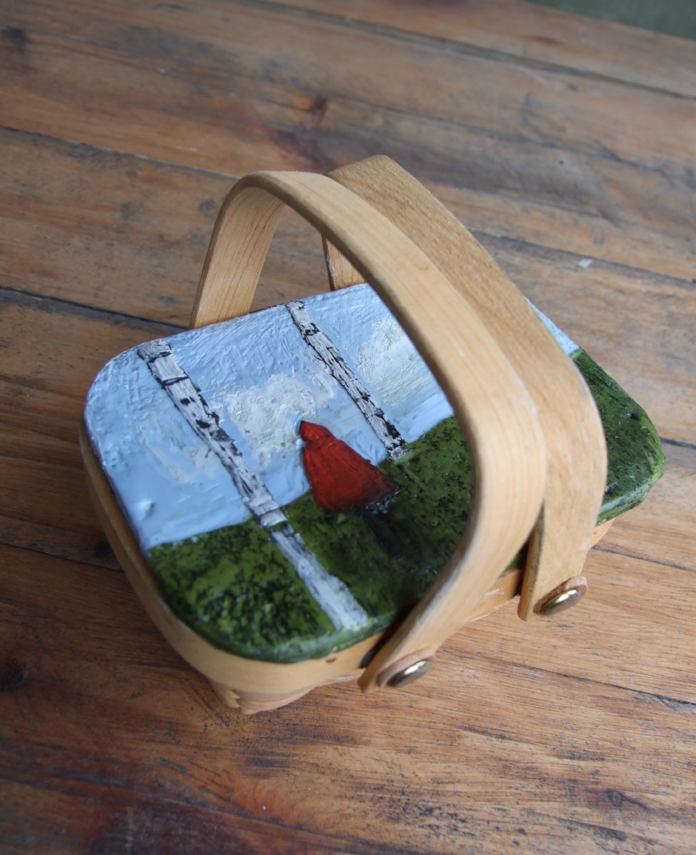 into the woods (basket)