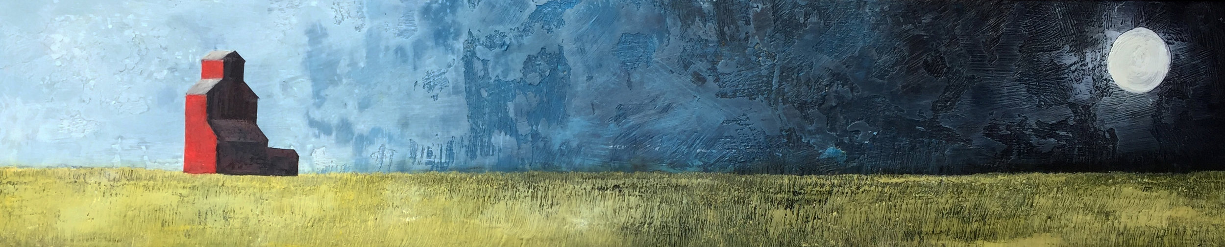 "by the light of the moon 48""x10"""