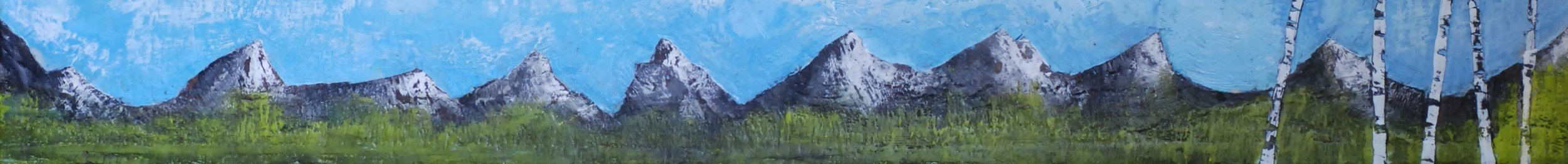 Rythm of the Mountains 48x6