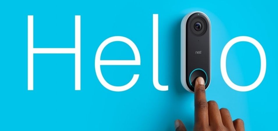 Know who's knocking. - Know Who's knocking. NEST doorbell offers HD video that delivers bright, crisp images day or night. It's smart enough to detect a person, then alert you even if they don't ring. Additionally, HD Talk and Listen makes sure visitors come through loud and clear.