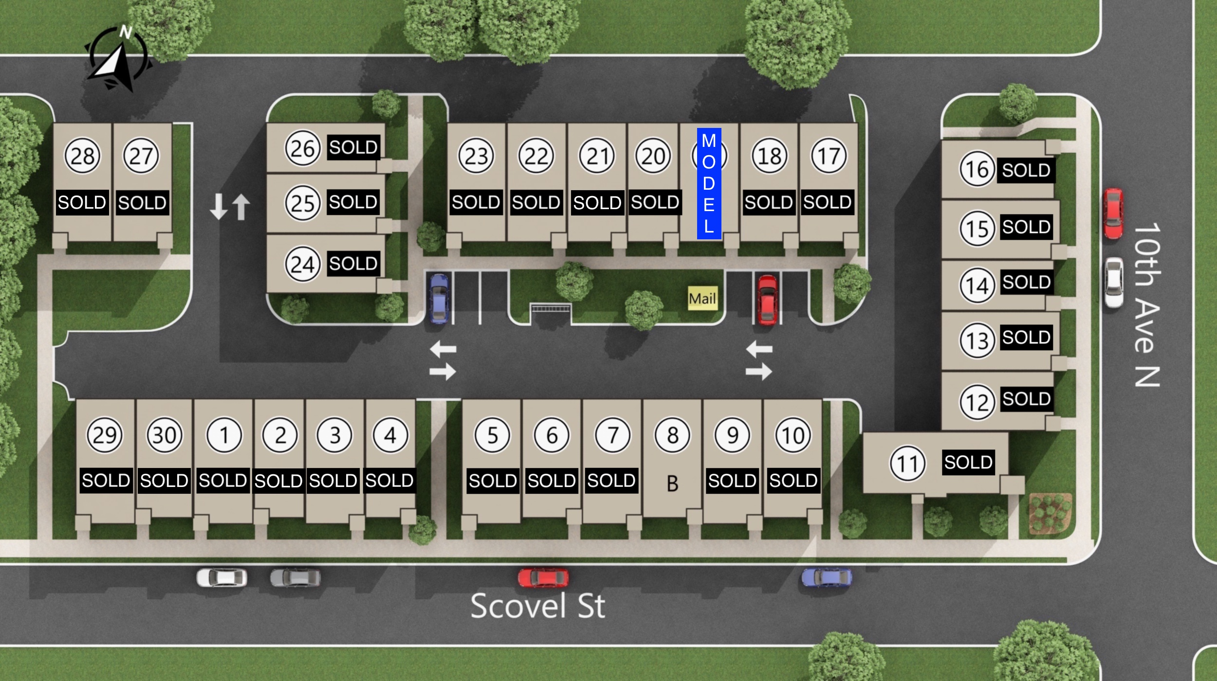 Ludlow Row Site Plan (30 units) - (MODEL and 8 available).jpg