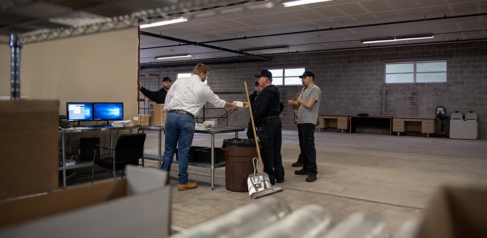 A look inside the Philadelphia Area Branch warehouse.