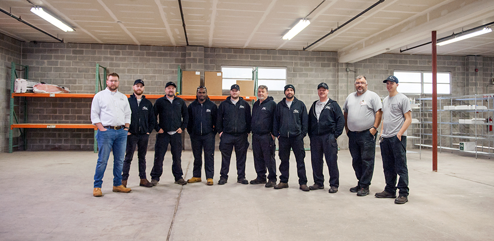 The Philadelphia area team.