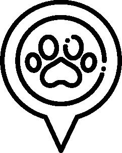 Dog-Friendly Location Icon.