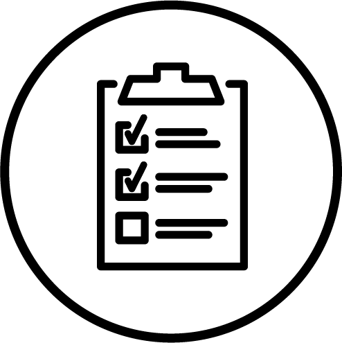 Maintenance Checklist Icon.