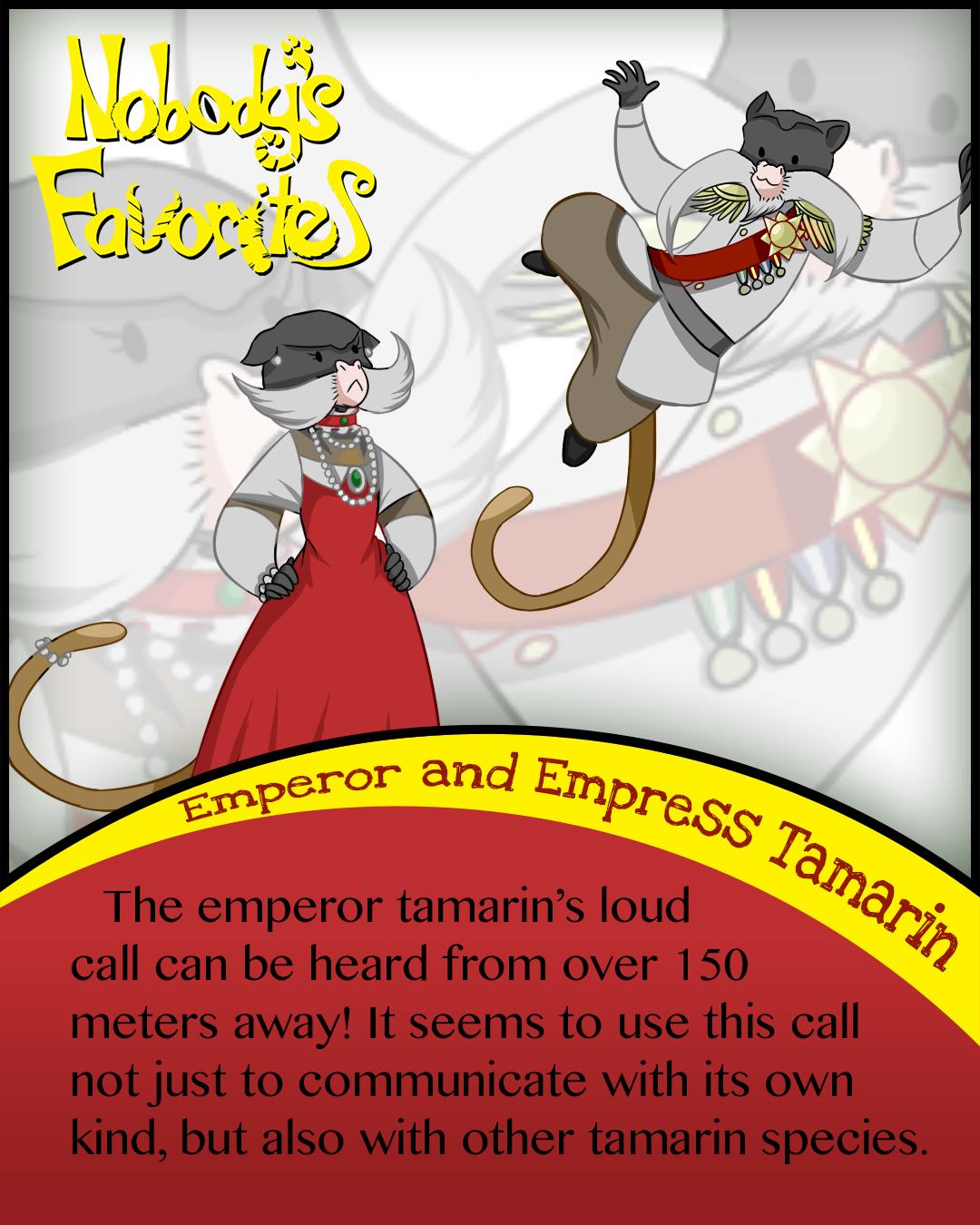 Emperor Tamarin - Fact 3