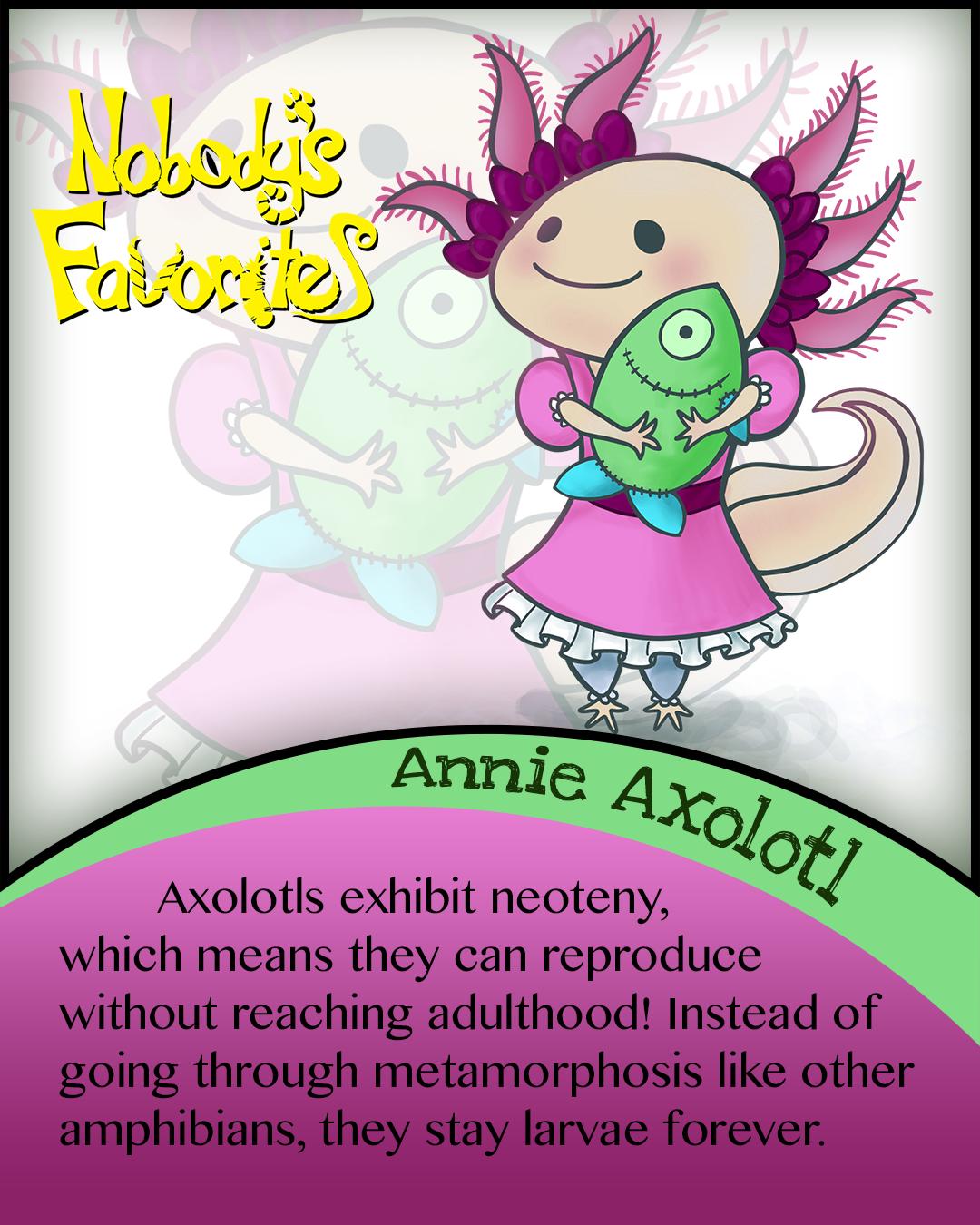 Annie Axolotl - Fact 2