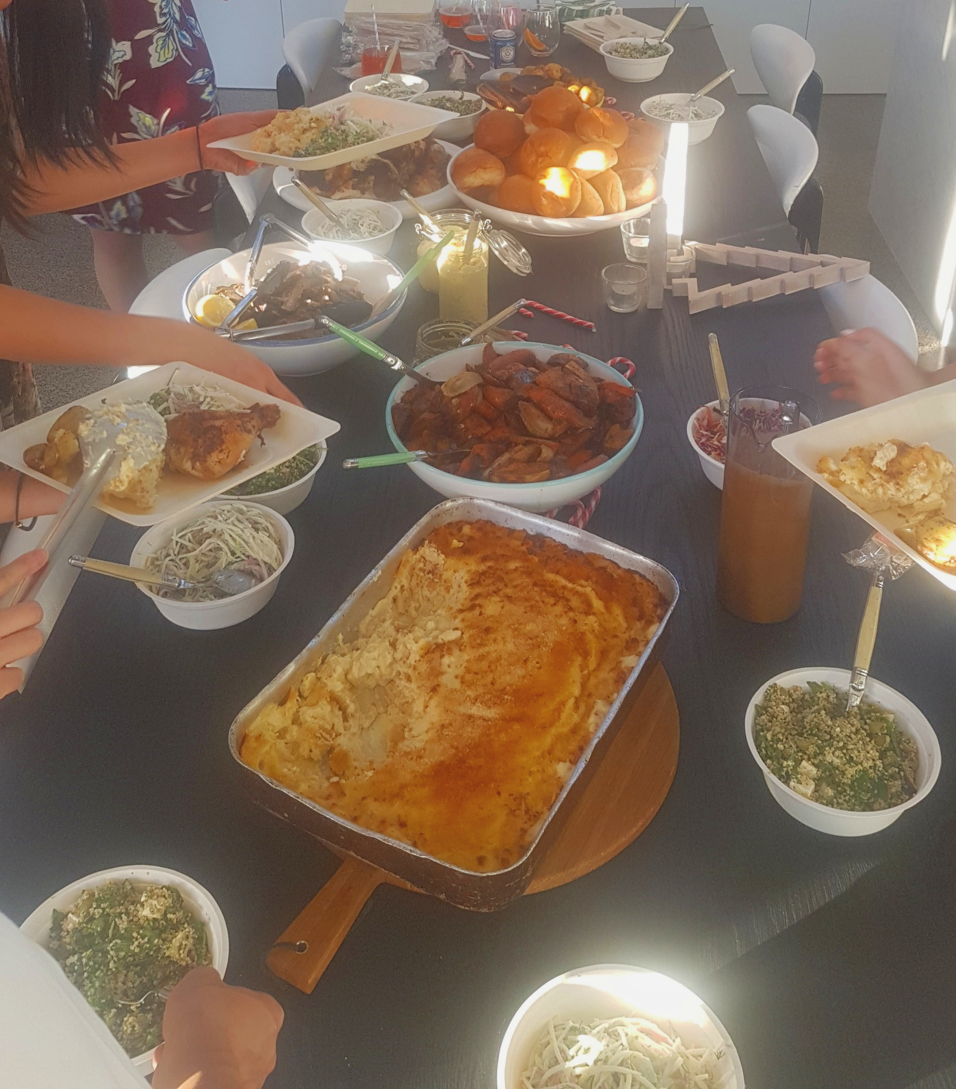 Buffet Style Family Christmas Function