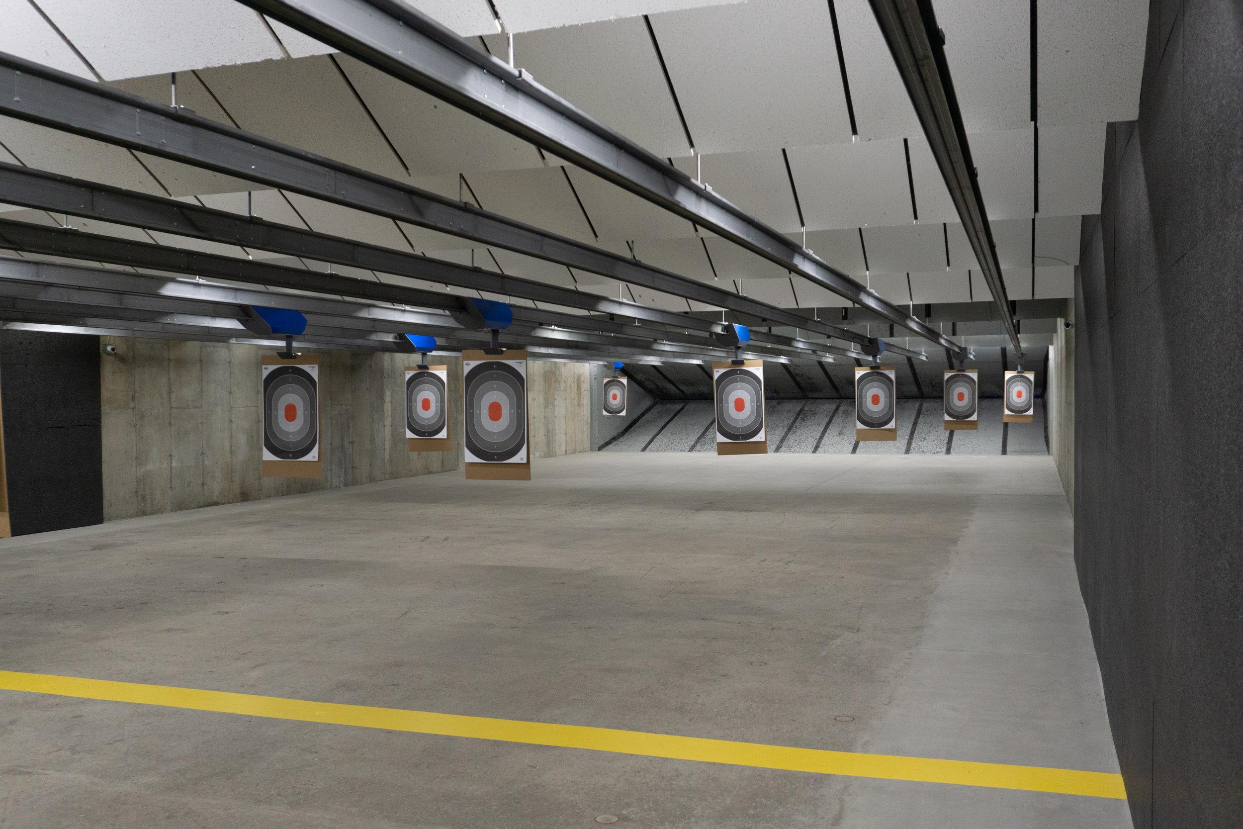 Shooting Range Boston | Hot Brass (Guns Inc.)