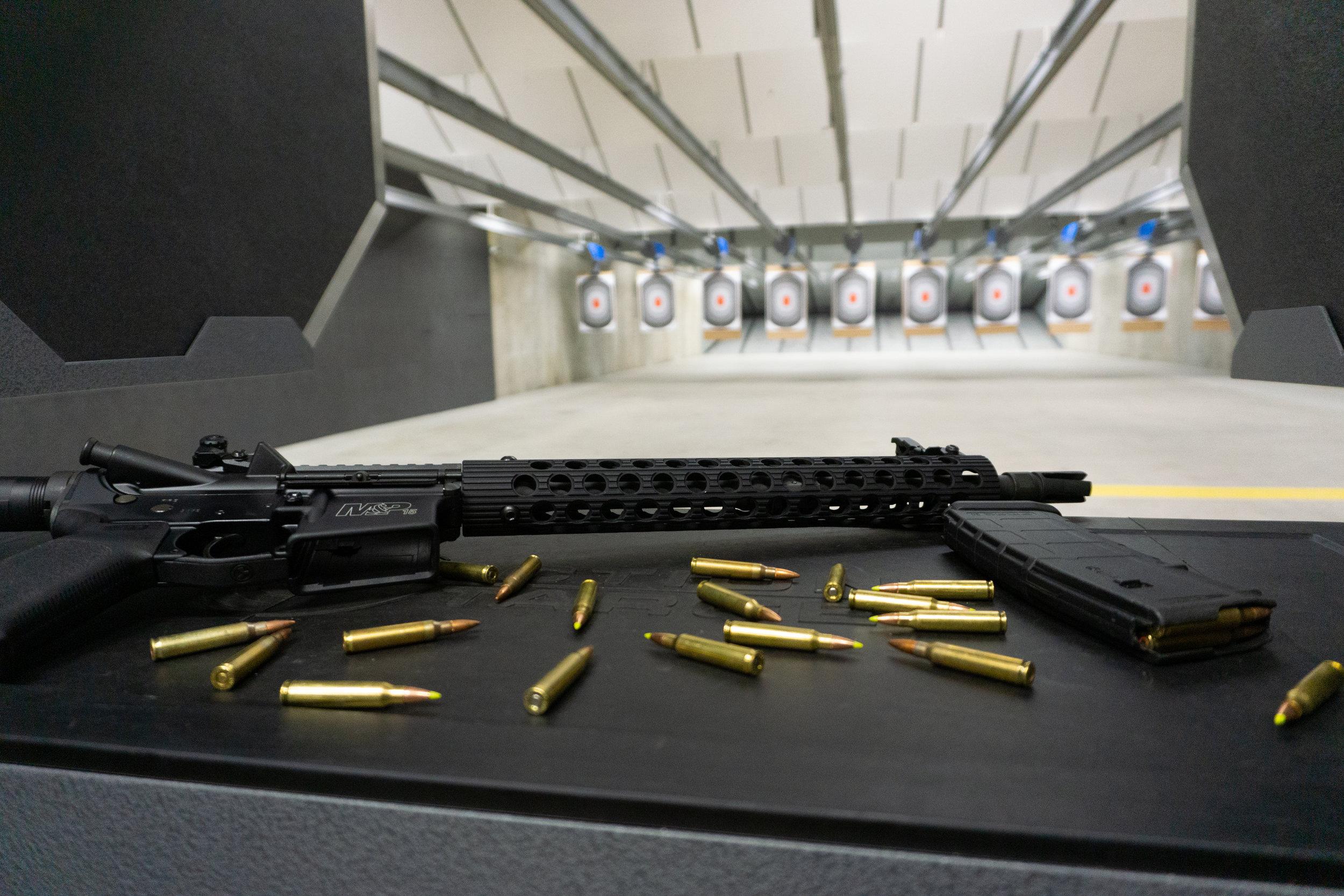 West Springfield Gun Range | Hot Brass (Guns Inc.)