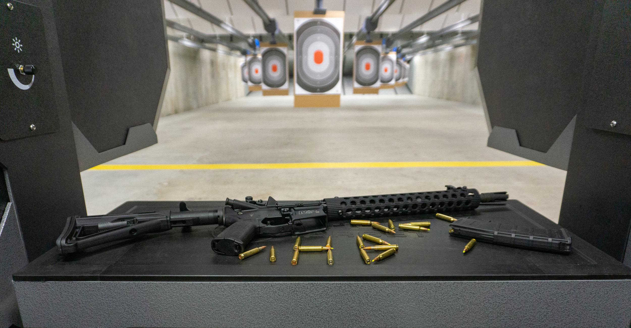Gun Range Pistol Rental | Hot Brass (Guns Inc.)