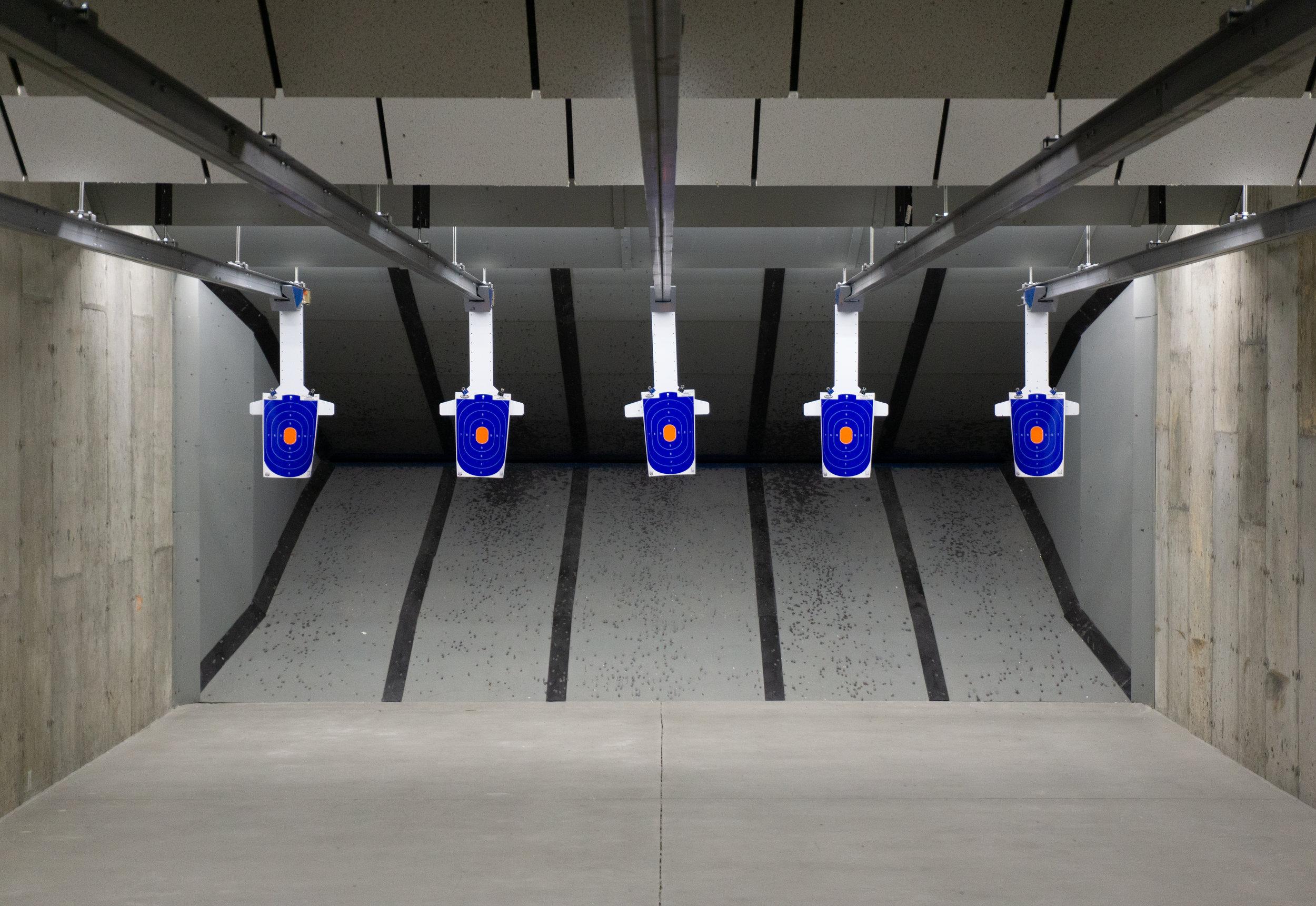 Indoor Shooting Range Boston | Hot Brass (Guns Inc.)
