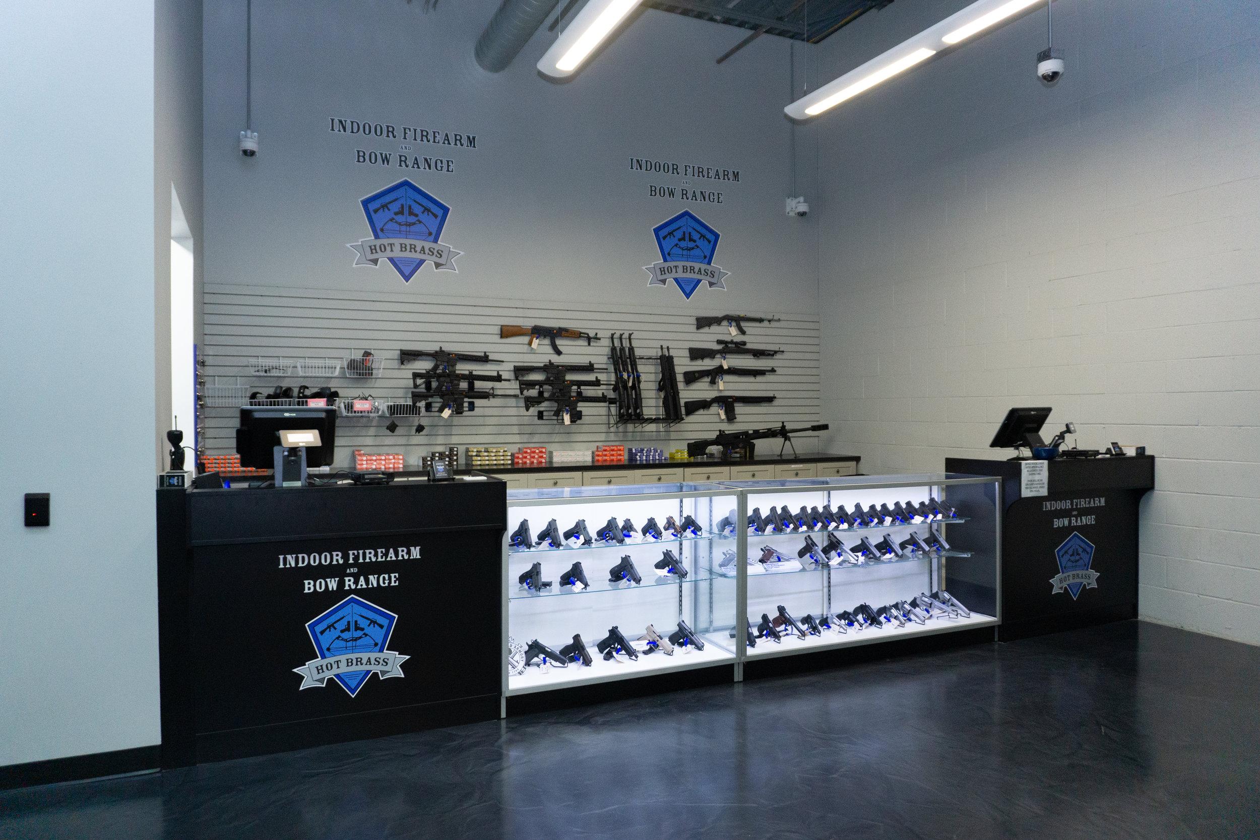 Gun Range West Springfield | Hot Brass (Guns Inc.)