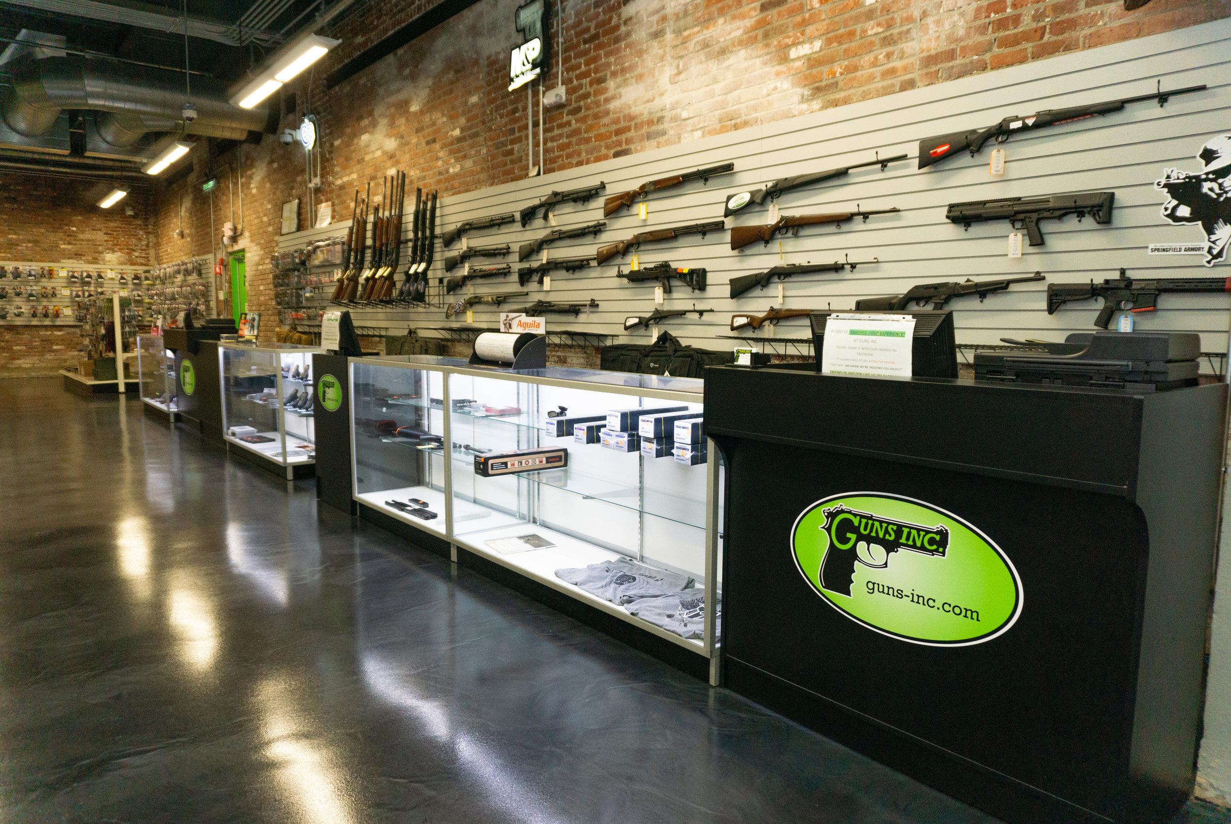 Springfield Gun Shop | Hot Brass (Guns Inc.)