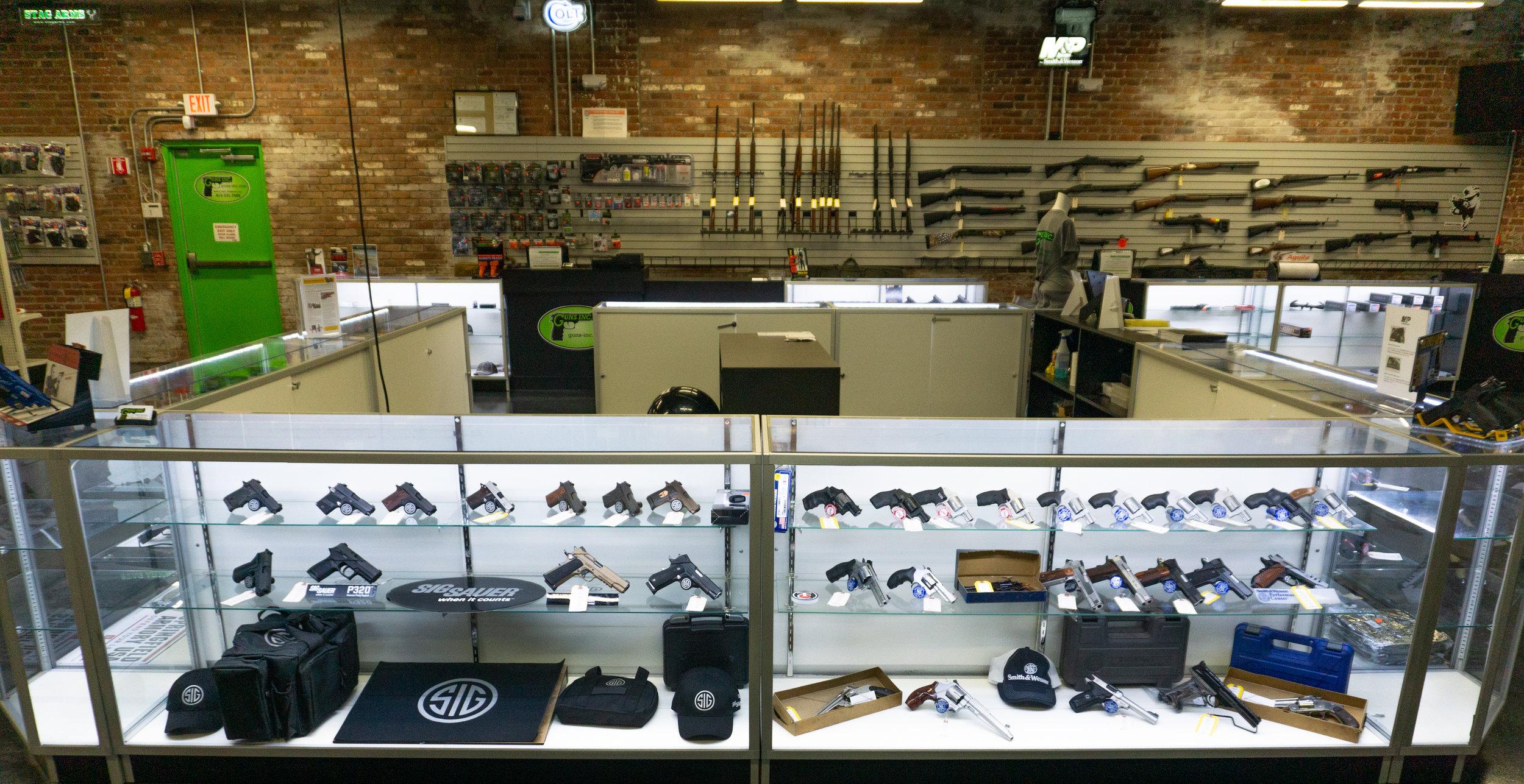 Gun Shop Springfield MA | Hot Brass (Guns Inc.)
