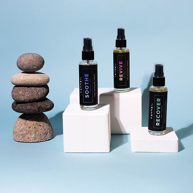 Introducing our new CBD infused Massage Sprays ✨: Revive, Soothe & Recover. Perfect for on the go, for after that crazy hike, during that intense workout or even for when you're relaxing at home.