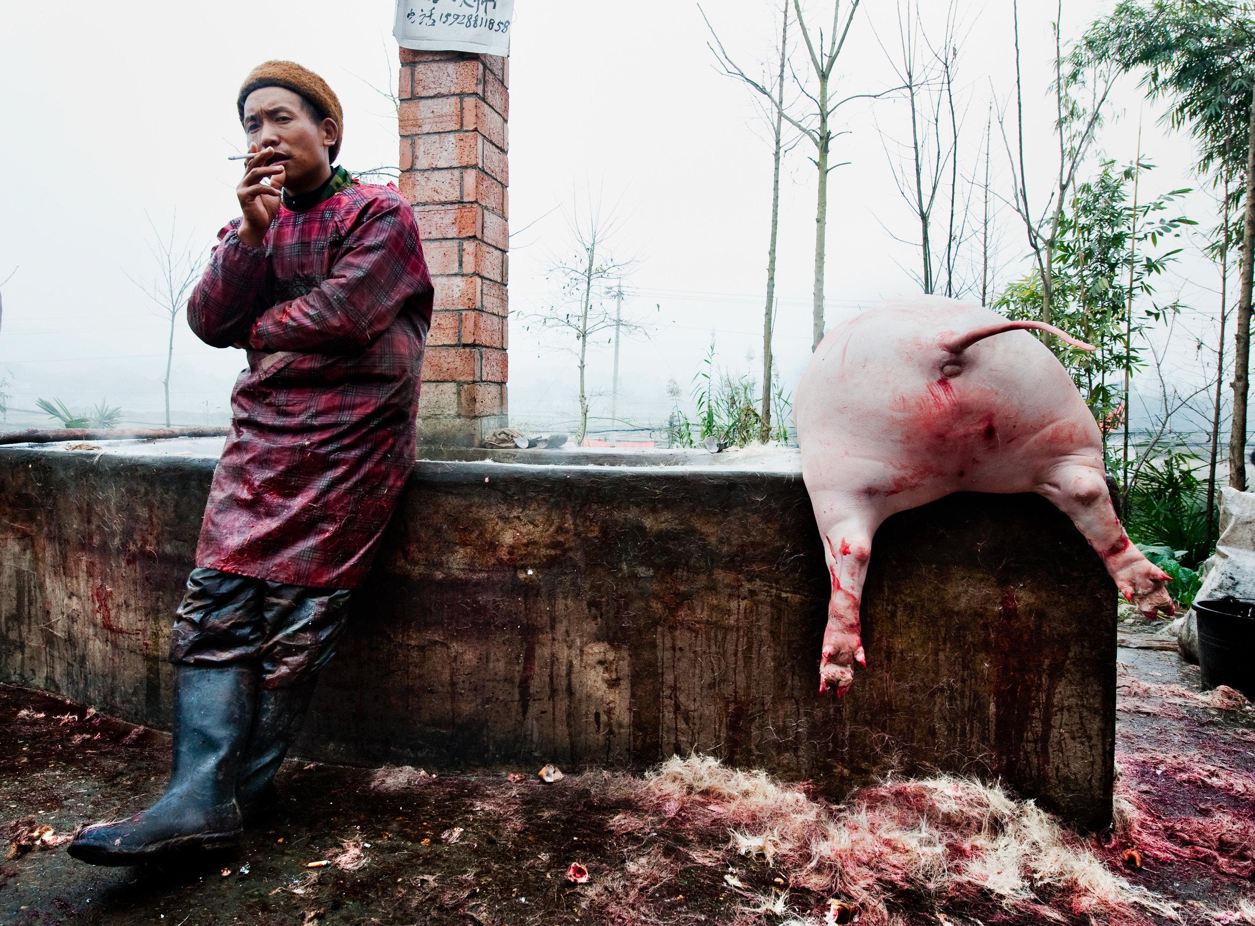 Just butchers -