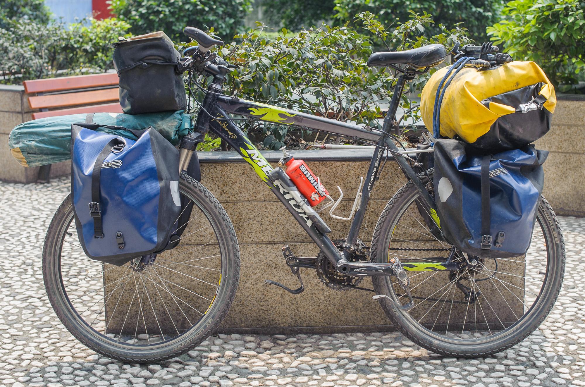 First bike - Mérida MTB