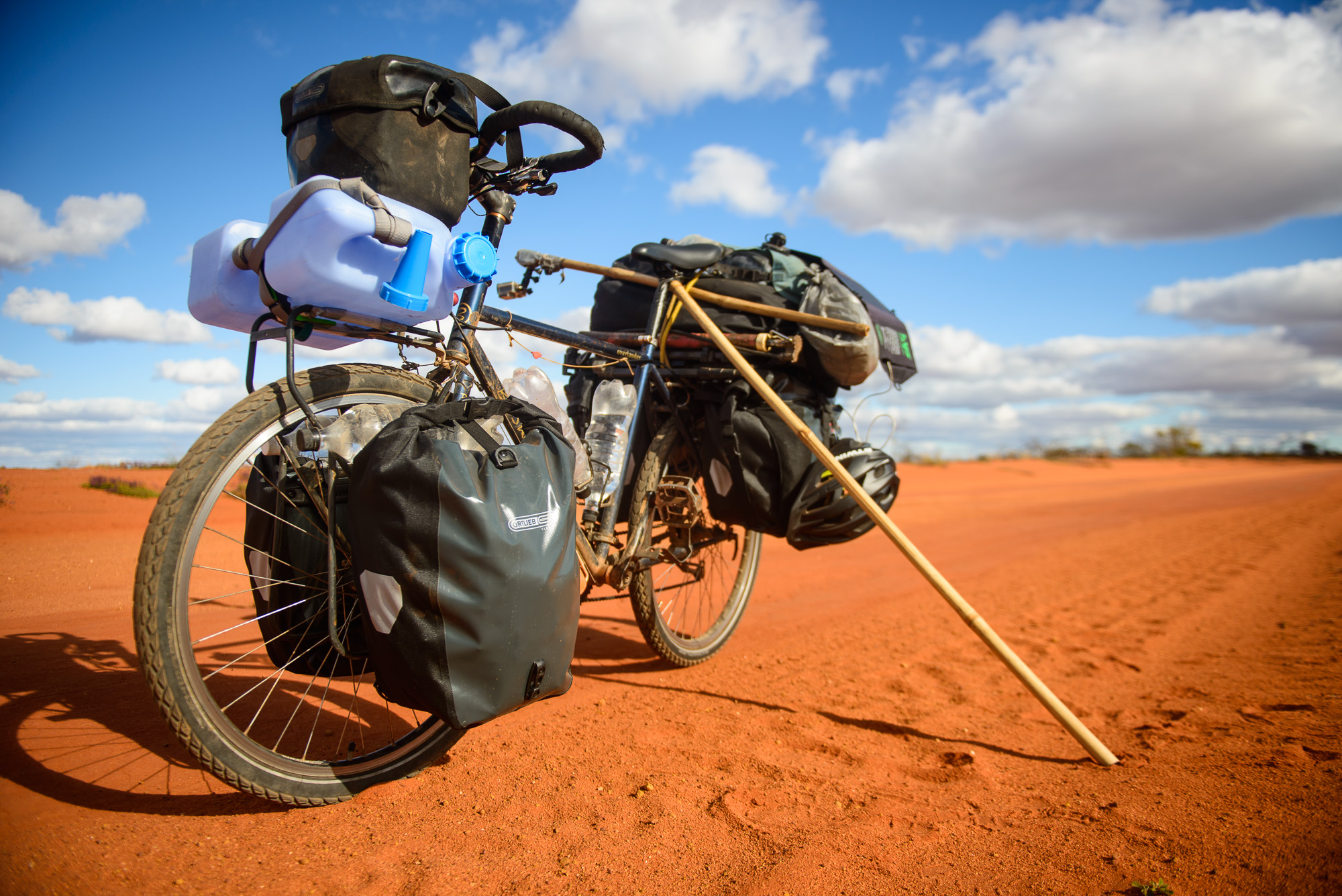 """Second and current bike - Boskey Overlander adapted to 26"""""""