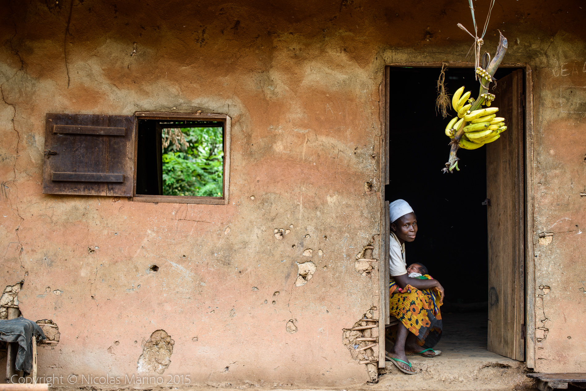 Rural life in Cameroon.