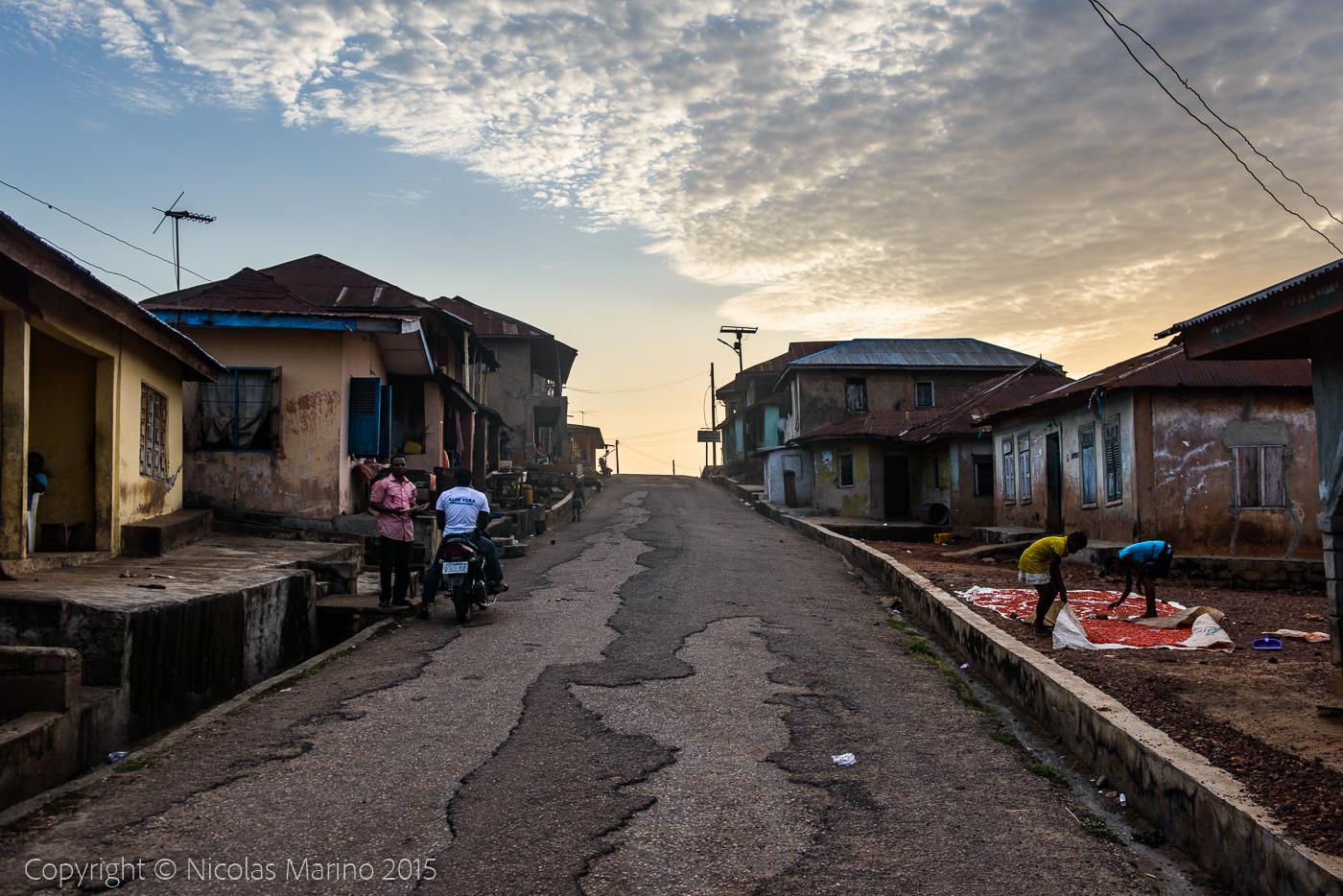 Streets of Ifon, Nigeria