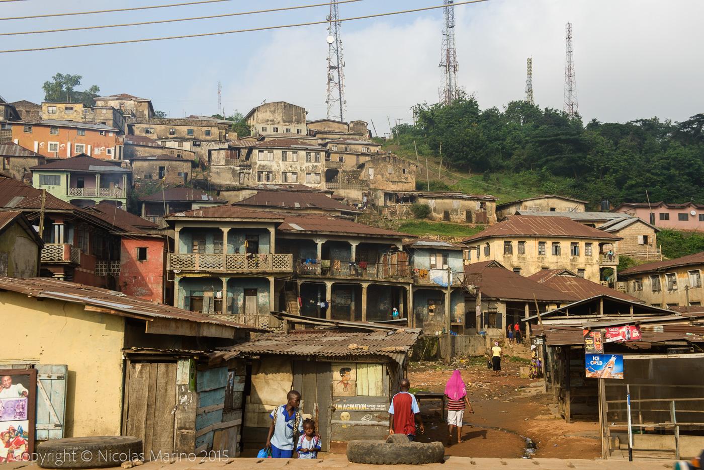 Ibadan views. Nigeria