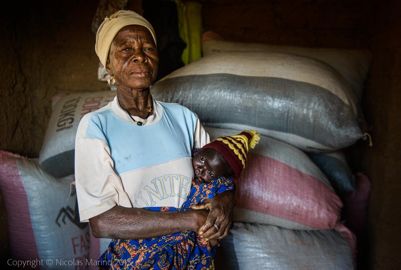 Rural life in a Gourmatche village. Burkina Faso