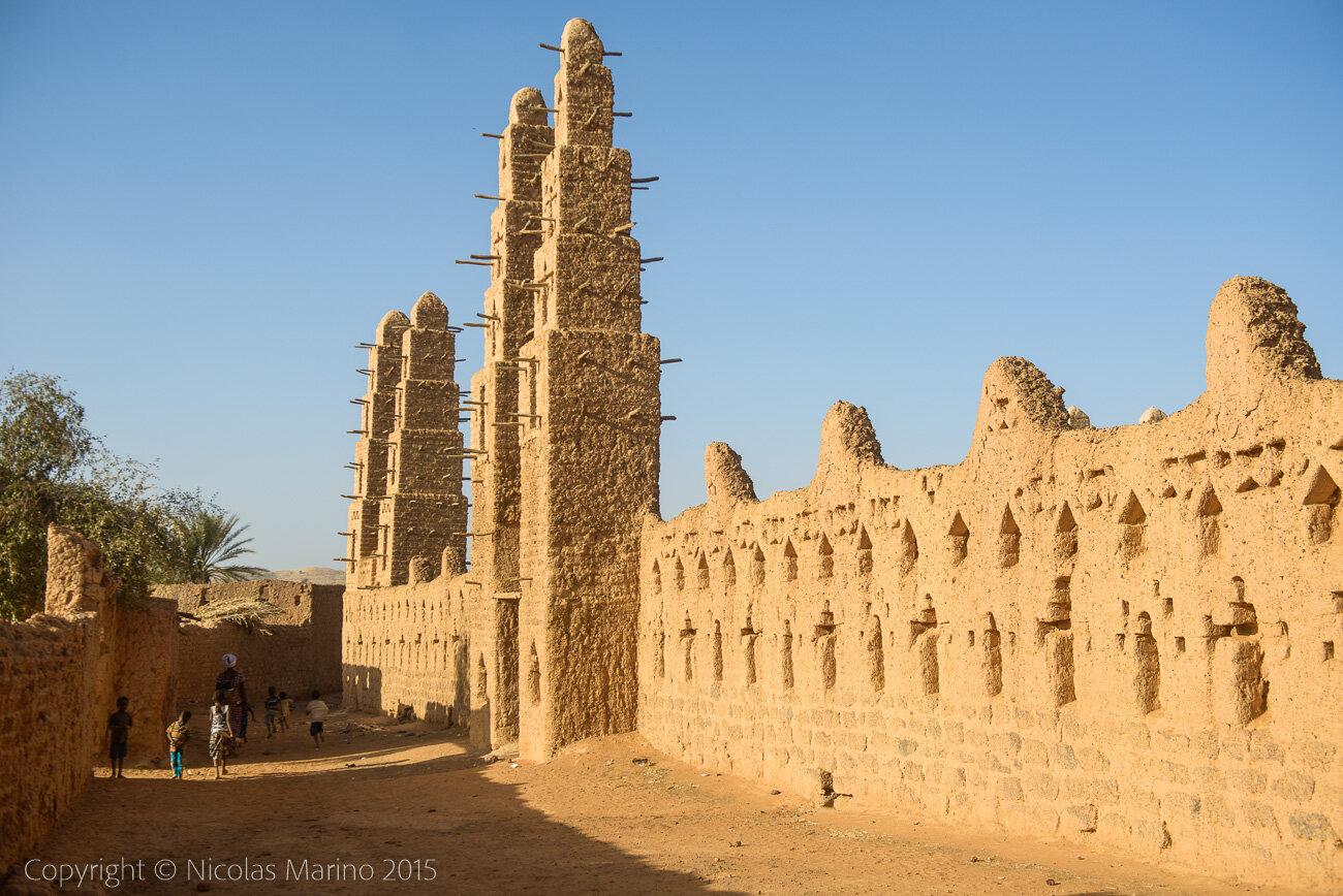 Grand Mosque of Bani. Burkina Faso