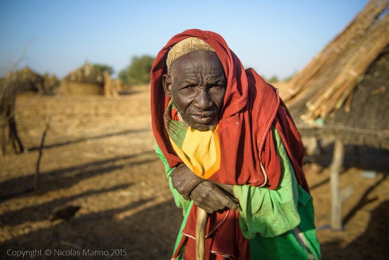 Fulani nomads of the Sahel. Burkina Faso