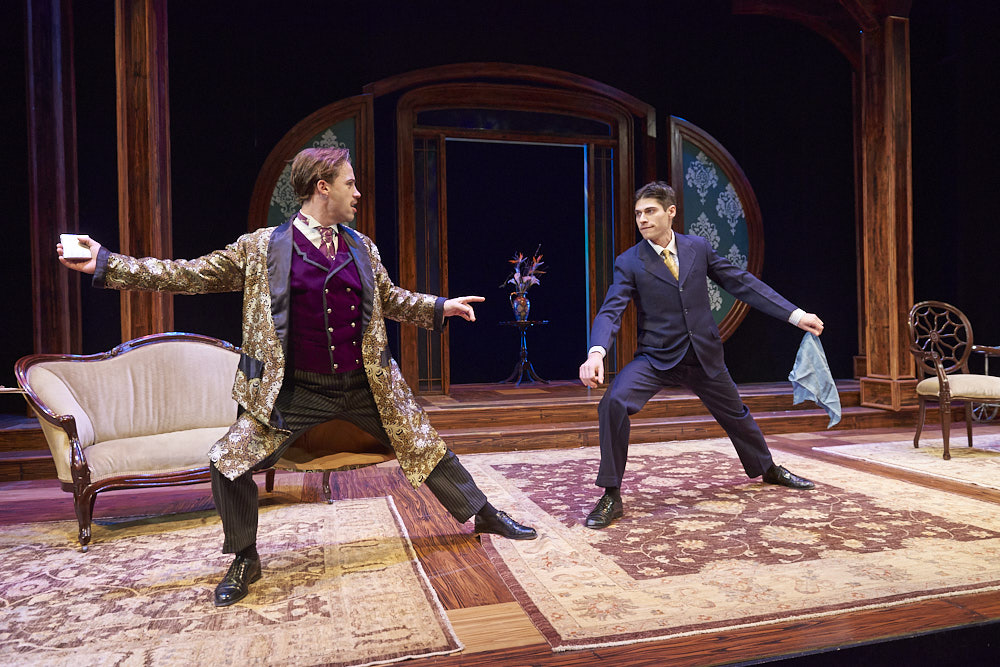 The Importance of Being Earnest , Portland Stage Company Ross Cowan and Max Samuels   Aaron Flacke Photography