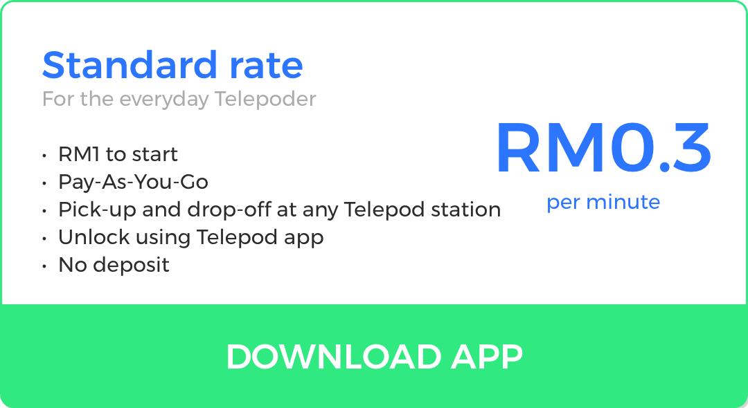 Telepod Malaysia Standard pricing
