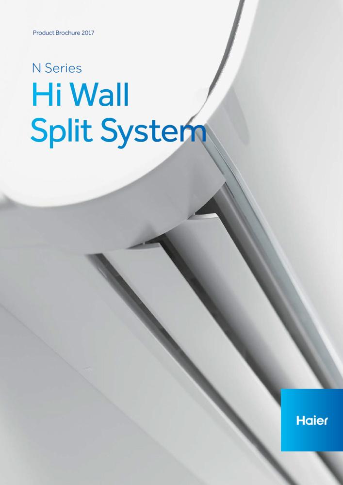 Haier Premier Series Wall Split Systems Brochure
