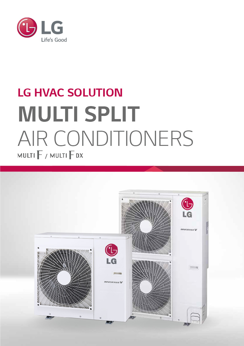 LG Multi Split Systems Brochure