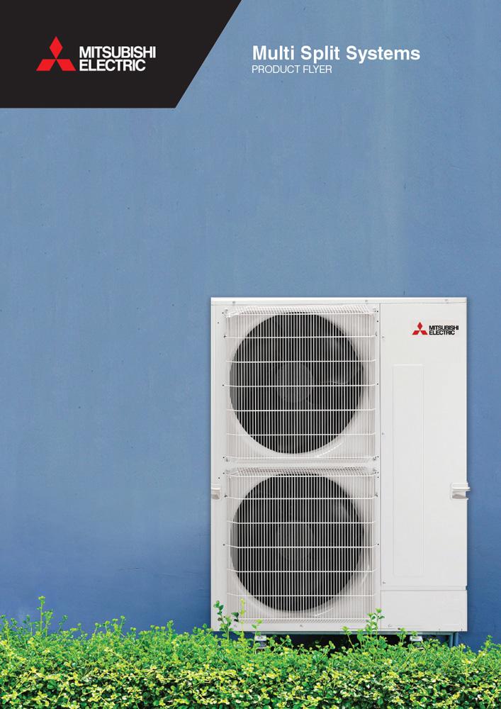 Mitsubishi Electric Multi Split Systems Brochure