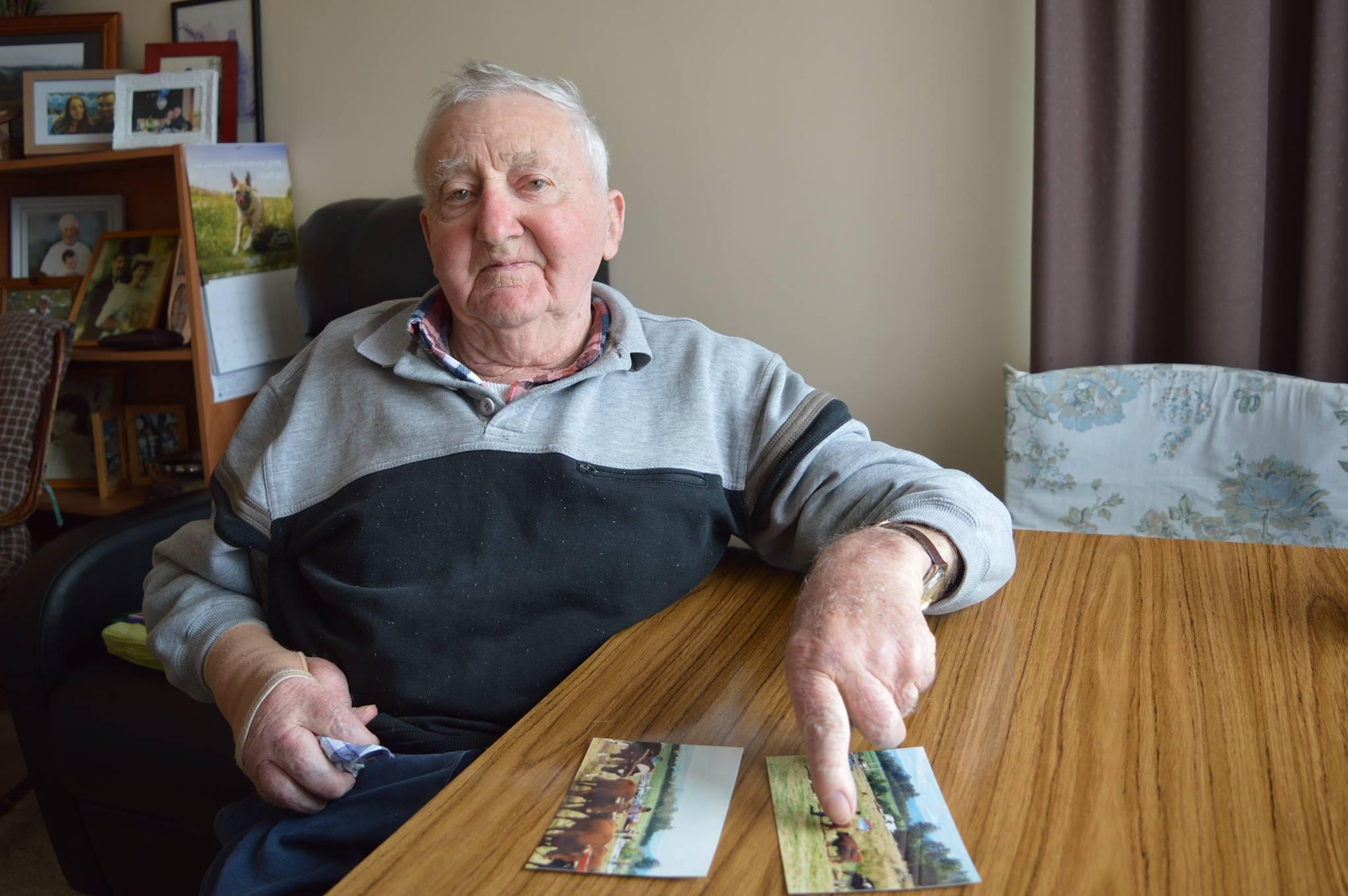 Rusty Richards recounts fond memories of a bullock league display in 1995