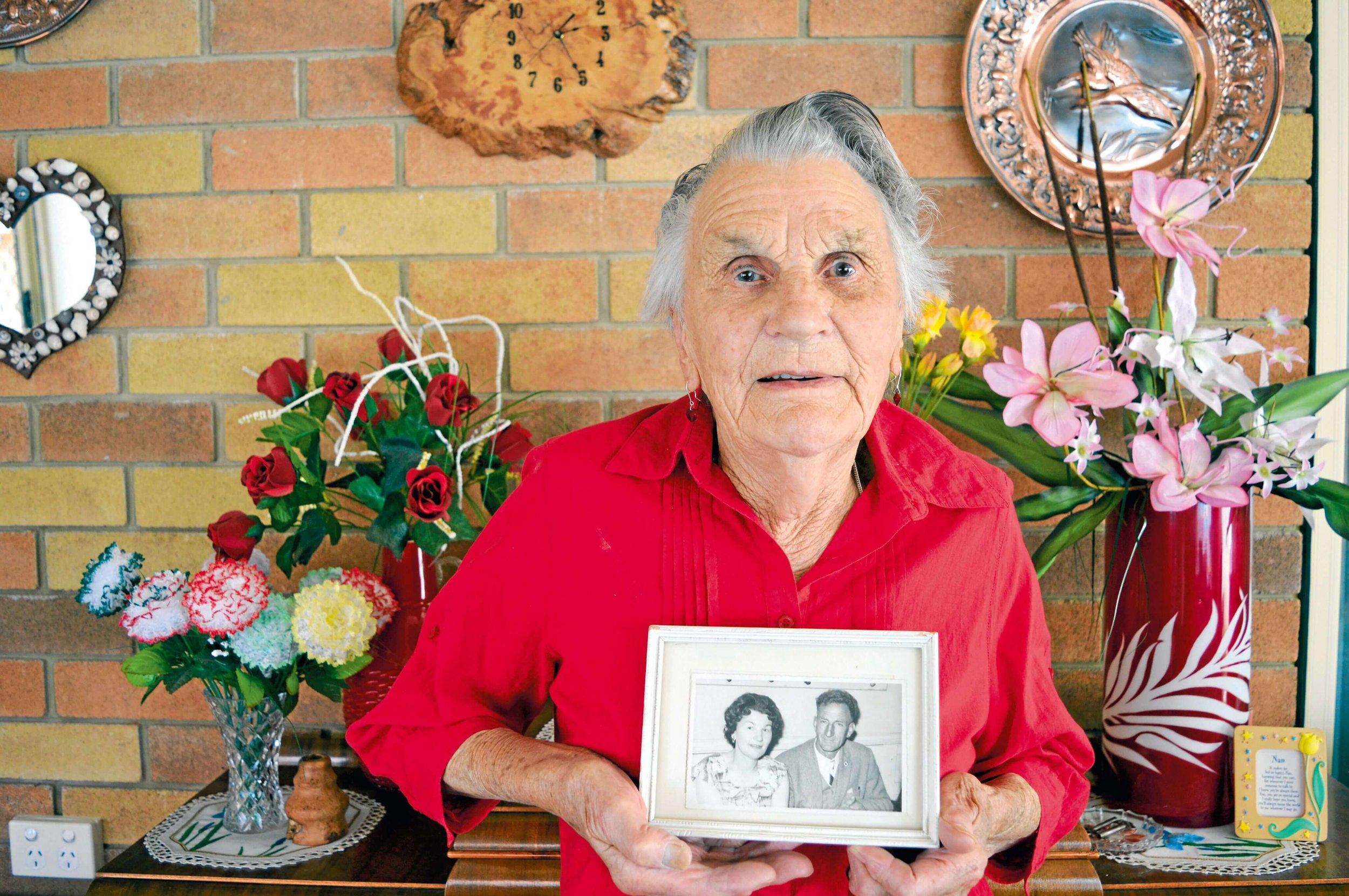 Ethel Clark in her Scottsdale home.