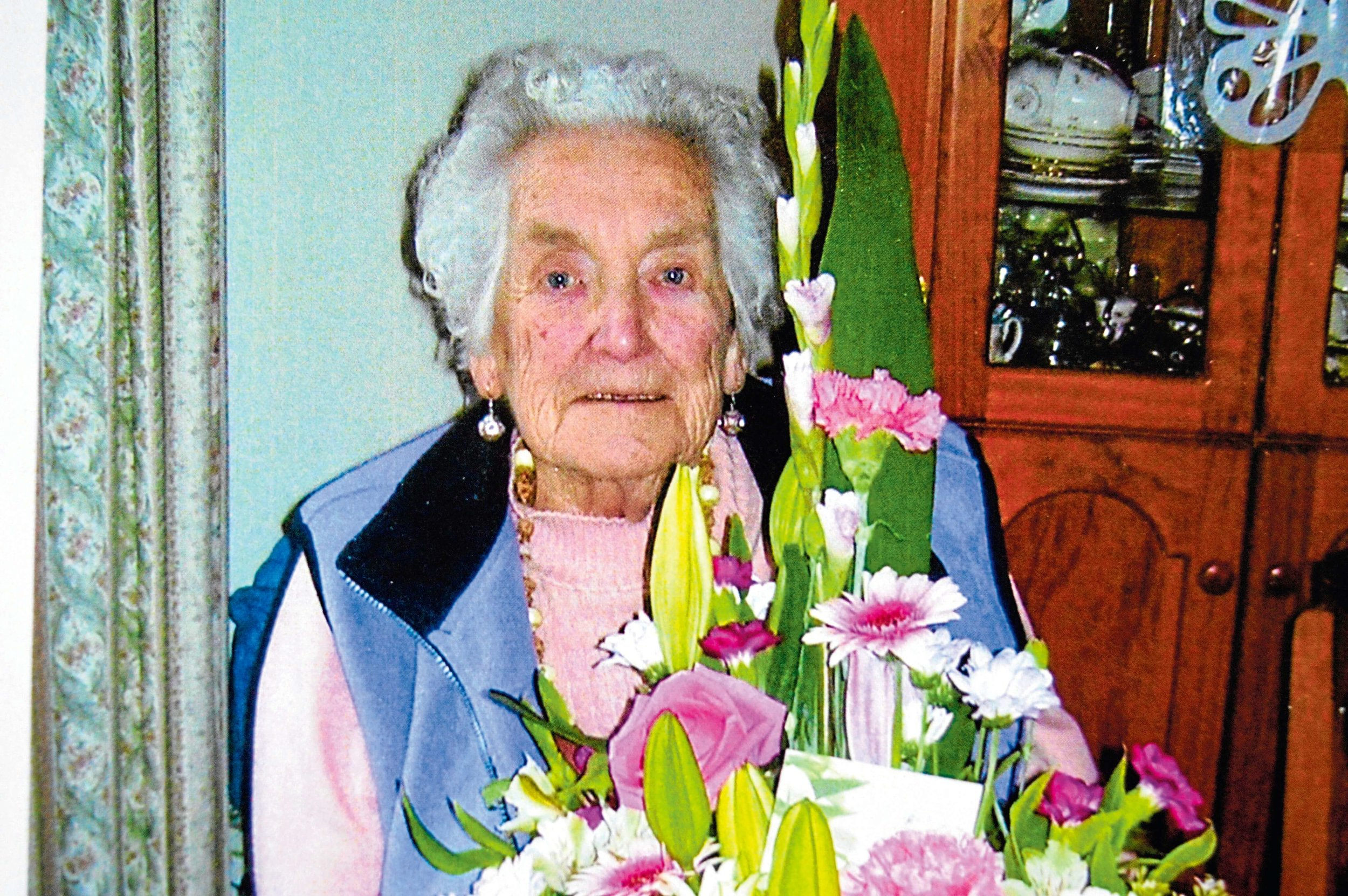 • Margaret Jestrimski on her birthday, reflecting on a wonderful life. Supplied.