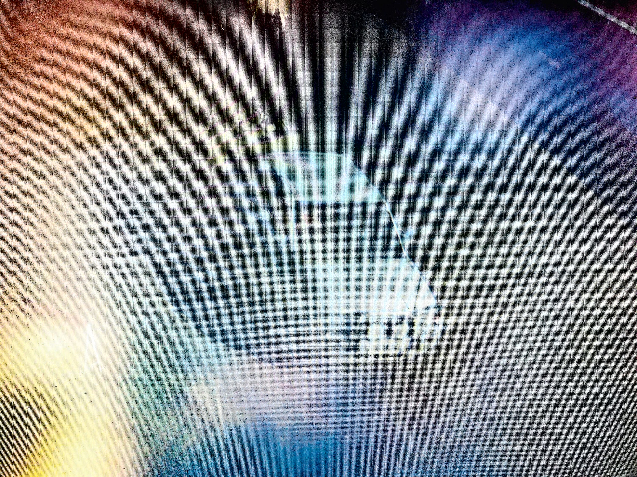 • Scottsdale Police are looking to identify this vehicle in relation to allegedly dumping deadly asbestos at the Scottsdale Waste Transfer Station on Sunday. Image extracted from Dorset Council's CCTV footage.