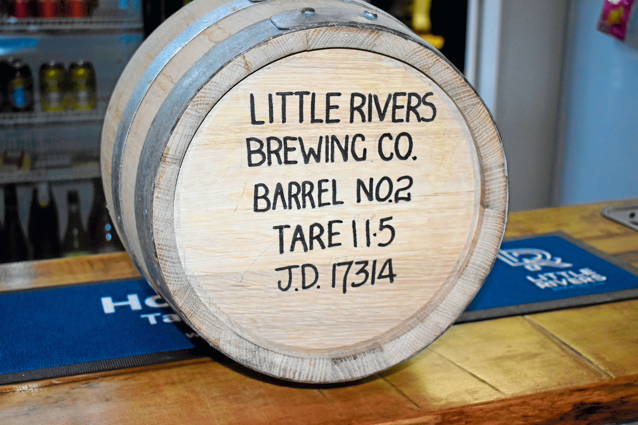 • In September Little Rivers will be releasing their own whisky label after beginning the process more than two years ago.