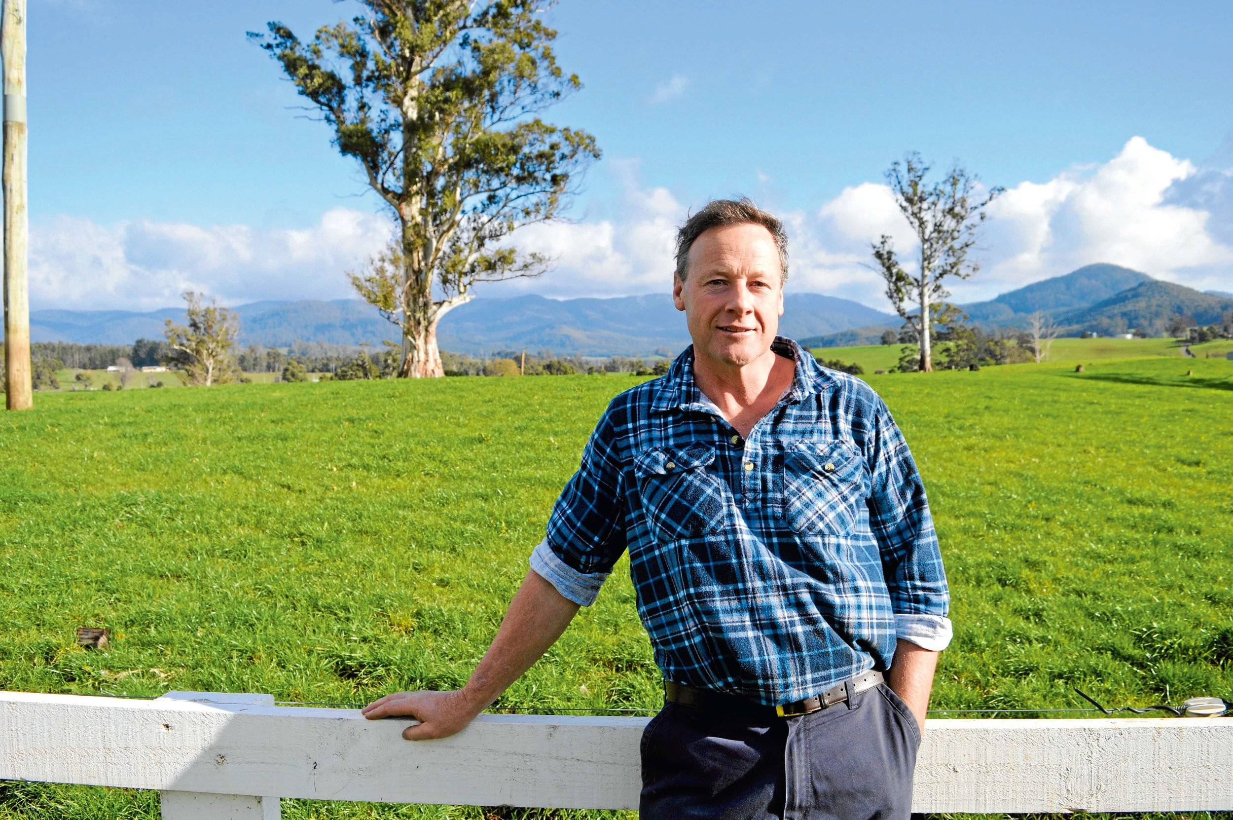 • Dairy Council chairman and Ringarooma dairy farmer Jeff Cox.