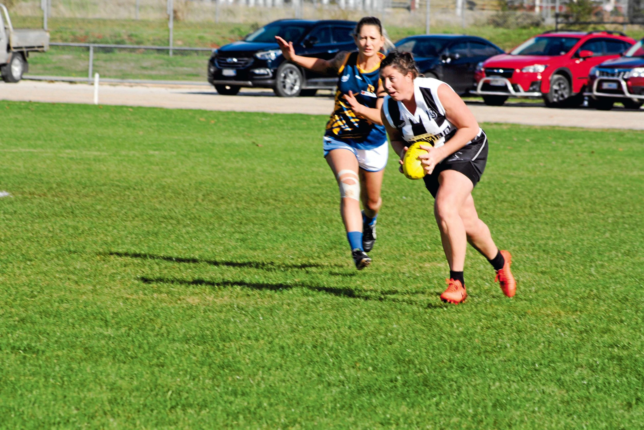 • Scottsdale vice-captain Cara Howlette on the move.