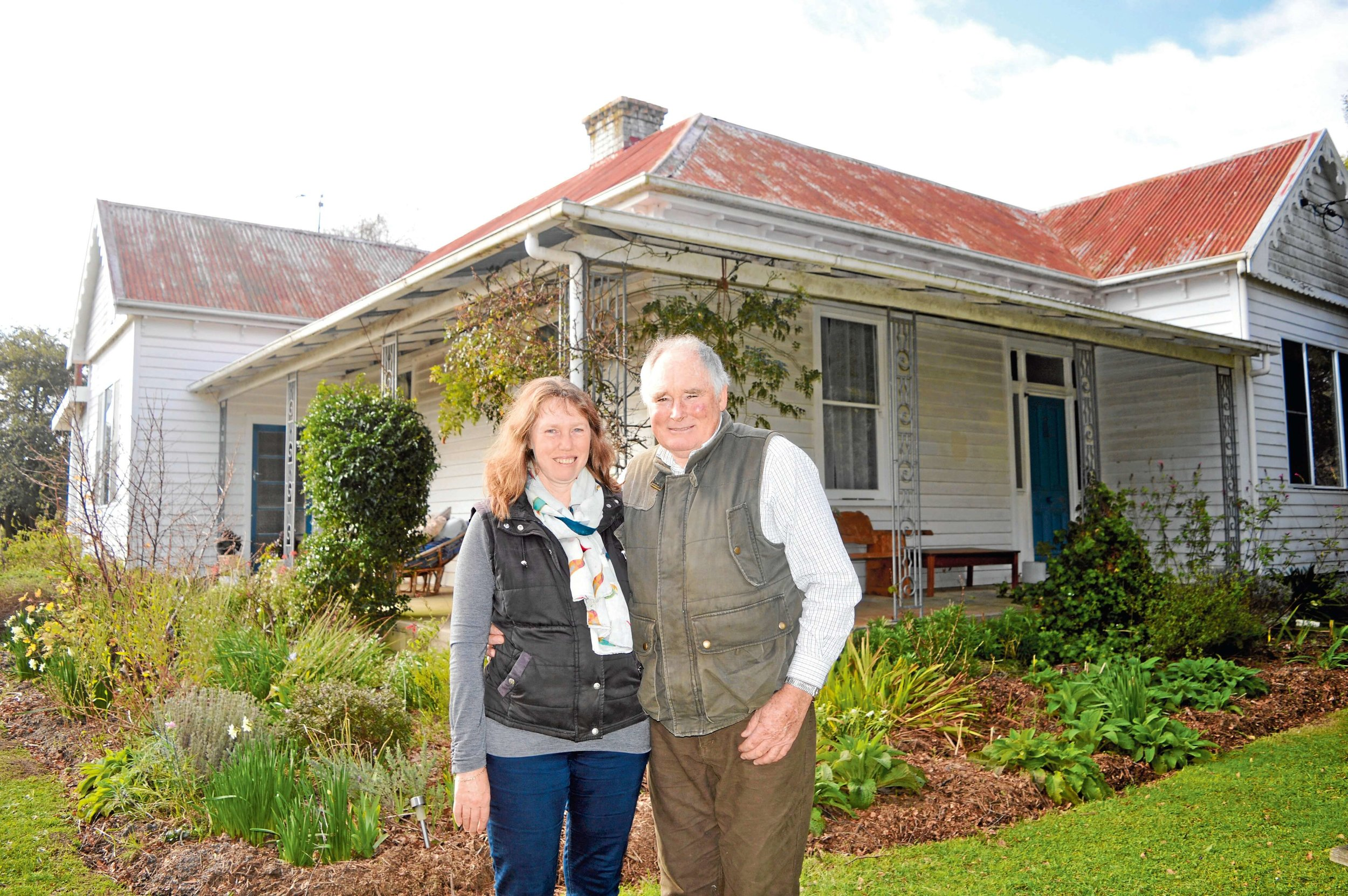 • Belinda Somerville-Hall and Robert Hall at Fairbank, which was formerly the Springfield hospital.