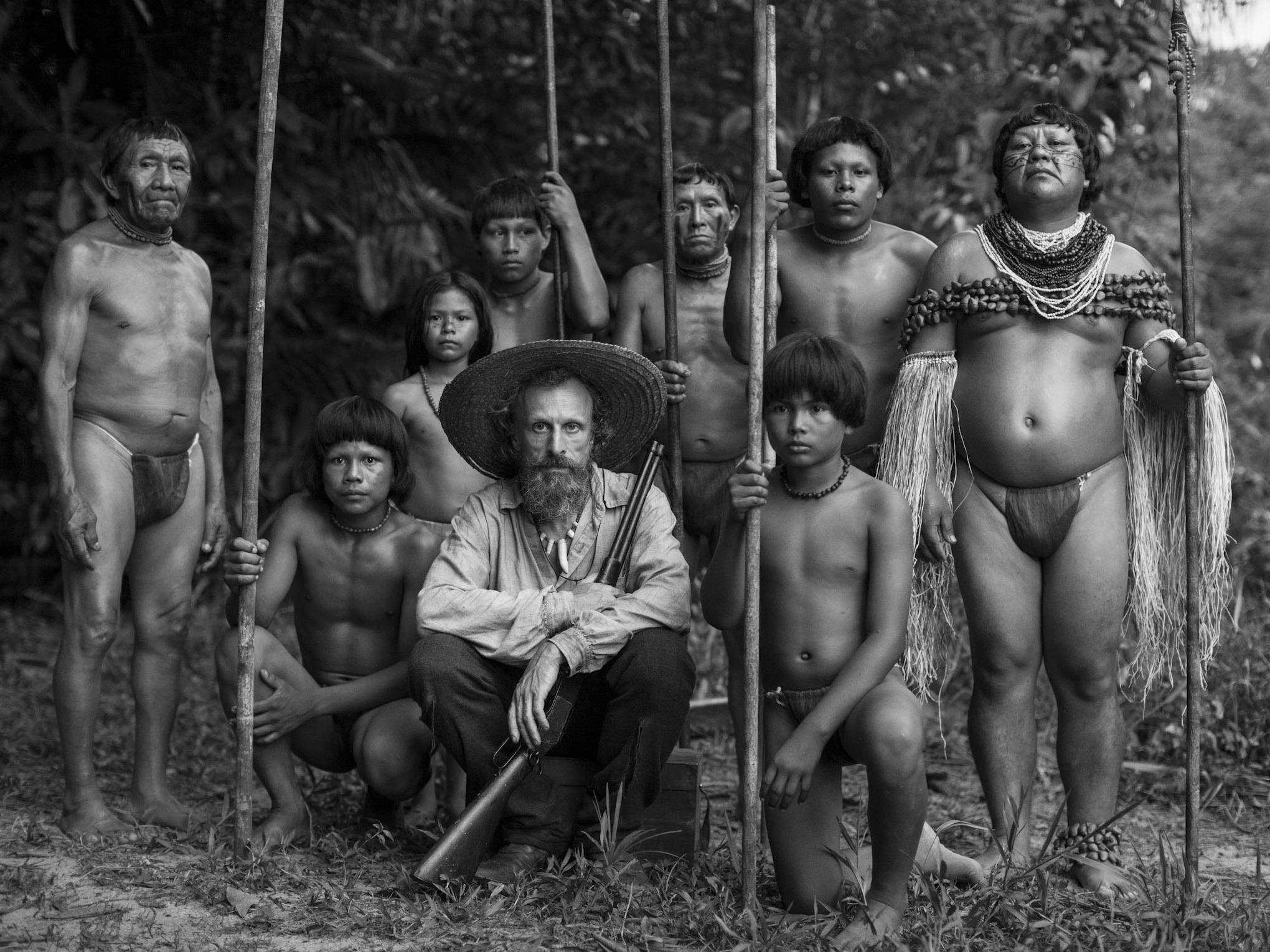 Embrace of the Serpent (2015) - A Piercingly Potent Psychedelic Elixir of Justice, Humanity, and the Very Origin and Destiny of the Universe