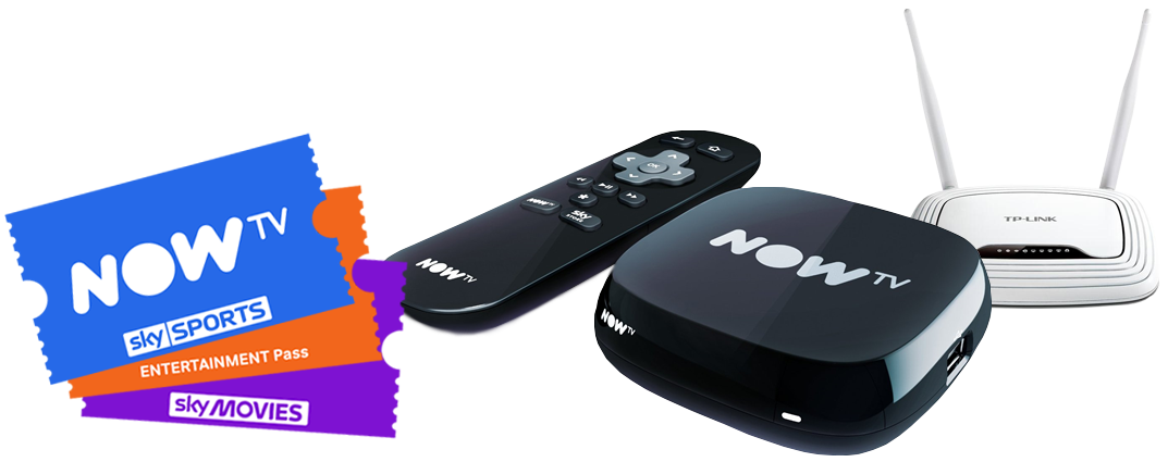 NOW TV - NOW TV is a convenient way to enjoy Sky Entertainment, Movies and Sports without a contract. It's fast, flexible and easy to set up, and you can simply add or remove NOW TV passes when it suits you.