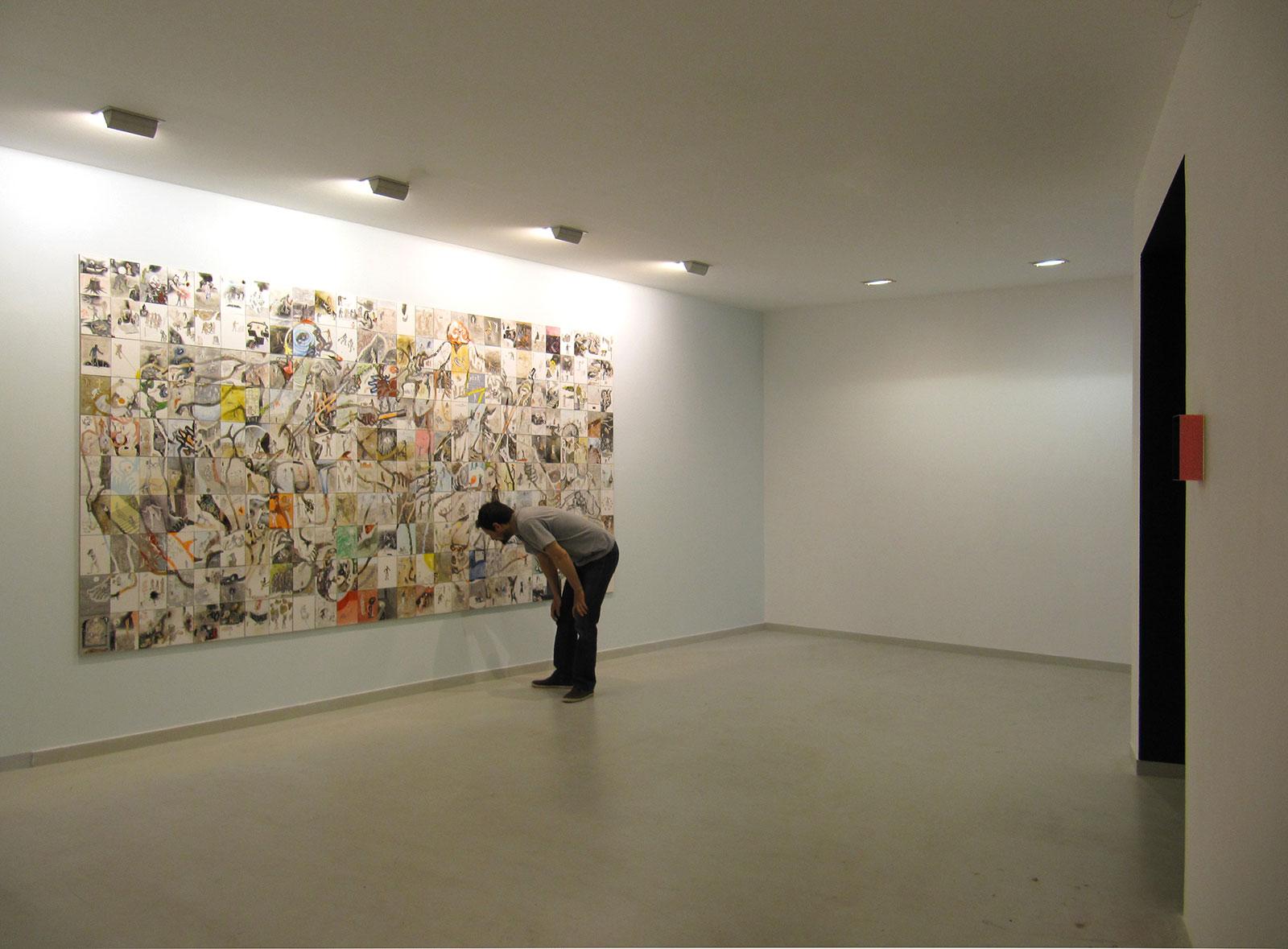 Overlook, Qbox gallery, general view, 2012